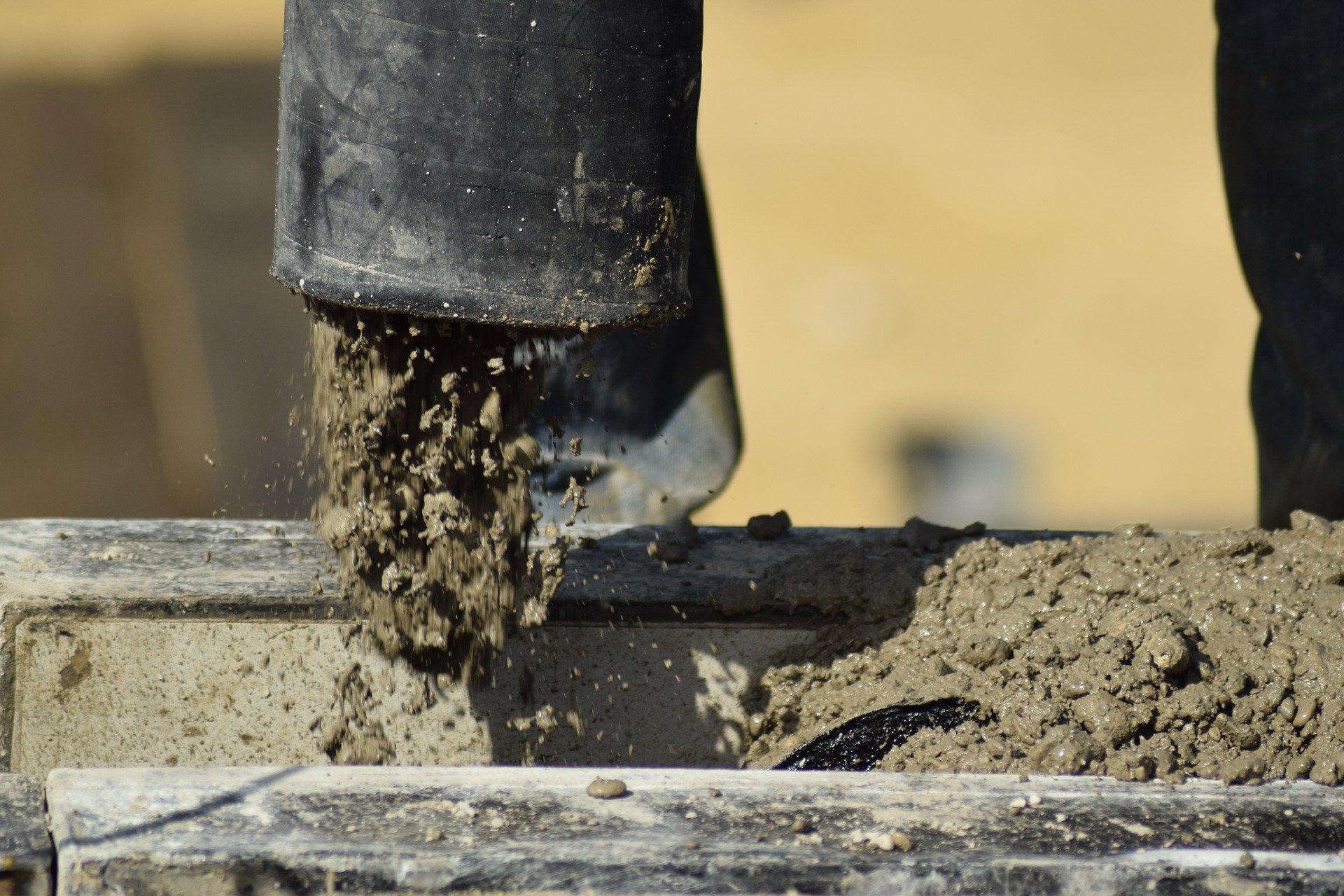 Fundering leggen beton